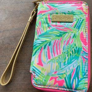 Lilly Pulitzer wristlet/Phone Holder